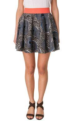 Eleven Paris Printed skirt - #woman #clothes