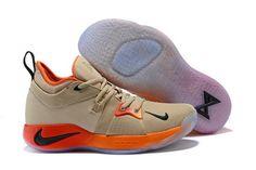 53087de2964 Comfortable Paul George Nike PG 2 Yellow Orange All-Star PE Men s  Basketball Shoes Male Sneakers