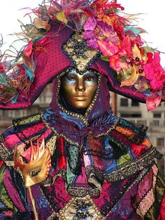 Maschera veneziana by Mikelauz
