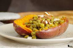 Sündenfreies Fastfood – in nur wenigen Minuten fertig auf dem Teller! 😉 Teller, Baked Potato, Sausage, Potatoes, Meat, Baking, Ethnic Recipes, Food, Honey