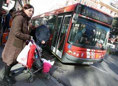 bebes y autobus