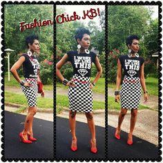 Checkerboard fun...!