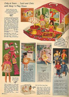 Sears 1968 Toy Catalog
