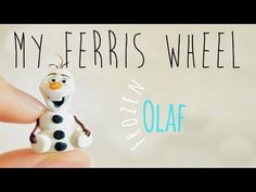 how to: miniature Olaf from Frozen