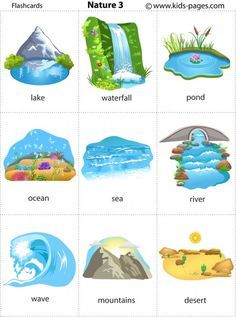 Kids Pages - Nature 3 Learning English For Kids, English Lessons For Kids, Kids English, English Language Learning, English Study, Teaching English, Spanish Language, French Lessons, German Language
