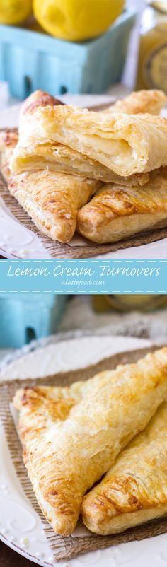 Lemon Cream Turnovers