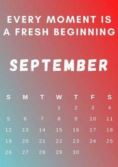 Inspirational September 2021 Calendar Cute September Calendar, 12 Month Calendar, Cute Calendar, Holiday Calendar, 2019 Calendar, Excel Calendar, Blank Calendar, Desk Calendars, Calendar Wallpaper