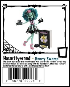 Honey Swamp a new character for 2014