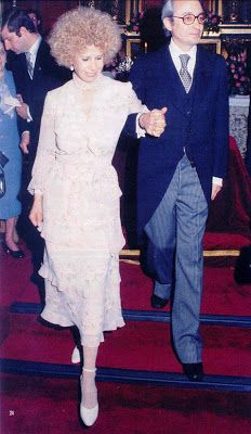 The Duchess of Alba and Jesús Aguirre y Ortiz de Zárate March 16, 1978