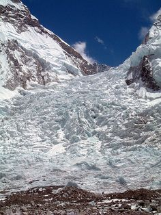 Khumbu Icefall, Mt Everest