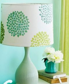 painting lamps on Pinterest | Sprays, Lampshades and ...
