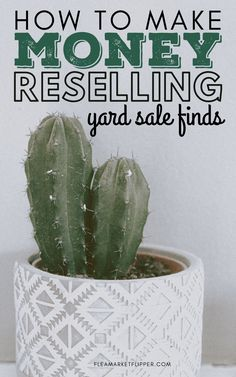 How To Make Money Reselling Yard Sale Finds | Flipping Side Hustle - Are you ready to turn your hobby for finding treasures at yard sales and thrift stores into a profitable side hustle? Click to learn how flipping is a great way for you to make extra money on the side and pay off debt. | Flea Market Flipper | Flipping for Profit | Flipping Items On eBay | Reselling Business | Profitable Business Ideas #flipping #thrifting #reseller #ebay #money #entrepreneur #sidehustle #workfromhome