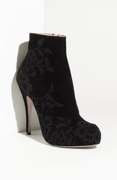 Getting ready for Fall12 already!!!  Valentino Embroidered Platform Boot | Nordstrom