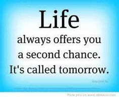 But don't put off to tomorrow what u can do today ;)