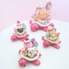 *Sold Out* Just about an hour left... . . . Sailor moon restock is TODAY March 31st @ 3p.m. EST Hope to see you guys there Range is 60-80 usd with exception for the large turtle, she will be full of swarovski crystals and detachable resin charm Keep in mind that this theme will be limited edition, I will not be making this theme anymore❤