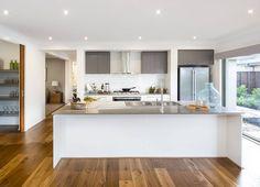 Metricon kitchen / love these splash back tiles