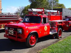 Philadelphia Fire Department  Tac 29 1974 Pierce Privately Owned