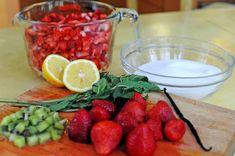 Strawberry Jam With Kiwi