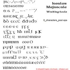 Celtic Manuscripts: The Book of Kells - Initials, Celtic Lettering and TTF Fonts Celtic Writing, Ttf Fonts, Abc Alphabet, Irish Quotes, Book Of Kells, Calligraphy Letters, Chalk Pastels, Illuminated Letters, Linocut Prints