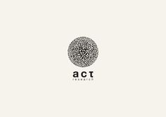 Typographic Logos by George Bokhua, via Behance