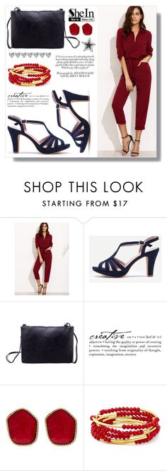 """SheIn 4. / IX"" by amra-sarajlic ❤ liked on Polyvore featuring Diane Von Furstenberg, Chrysalis, Sheinside and shein"