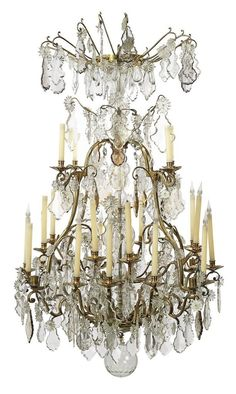 Chandeliers Antique Chandelier, Chandelier Lighting, Crystal Chandeliers, French Chandelier, French Decor, French Country Decorating, Mirror Lamp, Dream Furniture, Buffet Lamps