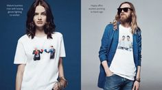 Adobes Clever Marketing Campaign Turns Cliche Corny Stock Photography Into A Clothing Line