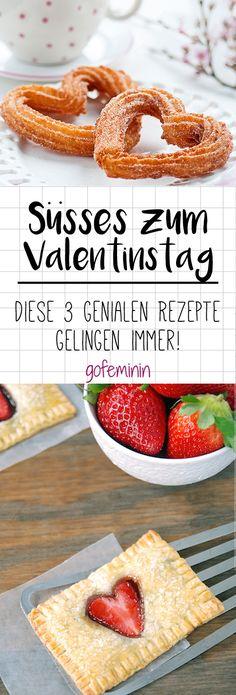 Zu einem unvergesslichen Valentinstag gehören einfach zuckersüße Kekse, Muffins und Kuchen dazu.