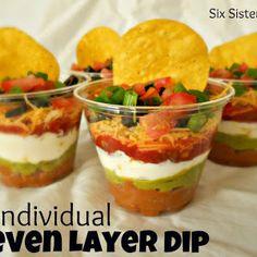 Indicaciones para hacer Nachos en porciones individuales. | Oh My Comida de Fiesta!