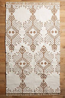 Gilt Stitch Flat-Woven Rug from Anthropologie Textiles, Autumn Inspiration, Design Inspiration, Anthropologie Home, Home Rugs, Throw Rugs, Woven Rug, Jute Rug, Floor Rugs
