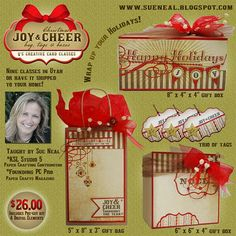 MyEyeQ: Q's Creative Card Classes: Joy & Cheer