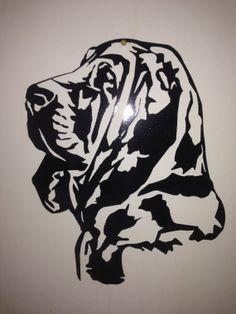 Bloddhound Dog wall art by SCHROCKMETALFX on Etsy, $35.00
