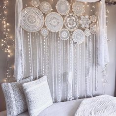 #dreamcatcher #crochet #ganchillo #decoración #paredes