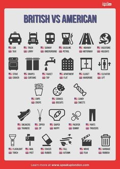 British x American English #elt #efl #brelt