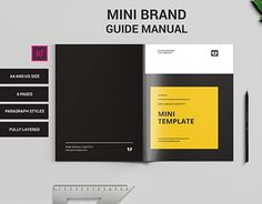 "Manual Design Templates Check Out New Work On My Behance Portfolio ""brief ."