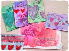 New products, old love: embossing #wowembossingpowder #distress #carabellestamps