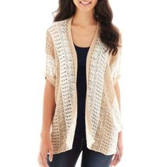 Converse® Take Out Chevron Print Shrug   found at @JCPenney