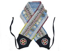 Belly Dance Belt, Tribal Belly Dance, Belly Dancers, Beaded Embroidery, Hand Embroidery, Antique Coins, Indian Textiles, Gypsy Style, Suspenders