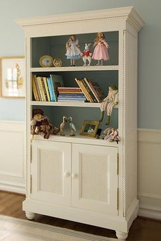Art for Kids Furniture Evan Bookcase - traditional - toy storage - Layla Grayce Cottage Furniture, Nursery Furniture, Kids Furniture, Furniture Making, Painted Furniture, Nursery Decor, Toy Storage Boxes, Tall Cabinet Storage, Toy Boxes