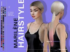 Sims 4 Couple Poses, All Hairstyles, Female Hairstyles, Kylie Jenner Hair, Sims 4 Black Hair, The Sims 4 Cabelos, Sims Packs, Pelo Sims, The Sims 4 Download