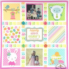Easter Layout - Scrapbook.com