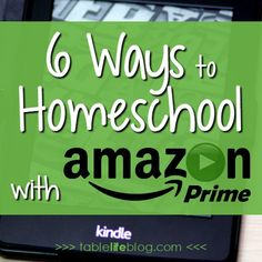 Looking for ways to put Amazon Prime to work for you? Today I'm sharing some of my favorite ways to homeschool with Amazon Prime. (Post contains affiliate links; see disclosure for details.) I love 2-day shipping as much as the next person, but there's more to Amazon Prime membership than[Read more]