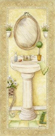 1000 images about decoupage bahtroom on pinterest - Laminas para banos ...