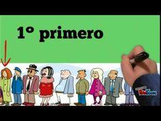 Otro vídeo que explica de forma muy clara los números ordinales.