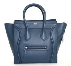 Celine Luggage Tote in navy...WANT