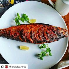 Fish  #Repost @therawtextures (@get_repost)  What about Himalayan trout for evening snacks ? Lovely capture by  @girish_kmr : follow him for his experimental dishes with touch of Indian flavours. . #food #foodgram #foodie #foodporn #foodgasm  #foodfetish #therawtextures #foodfetishindia #nonvegetarian #followforfollow #snacks #goodevening  #photooftheday #instagram  #fish #seafood  #indian #trout #love #punjabgrilltappa #punjabgrill #coriander