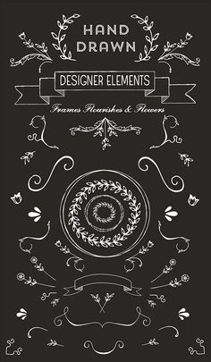 free vector clipart images for border and logo. #graphic #design element