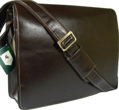 c778b724d622 Visconti Leather Distresserd Messenger Bag- One day I will have one of  these!