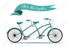 39 Awesome vintage tandem bikes images