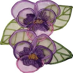 3D Flowers, Set 1 - 2 Sizes! | Floral - Flowers | Machine Embroidery Designs | SWAKembroidery.com